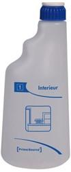 Sproeiflacon PrimeSource blauw voor interieur leeg 600ML