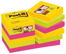 Memoblok 3M Post-it 622-SSRO Super Sticky 47.6x47.6mm Rio