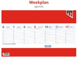 Weekplanagenda 2019 Quantore