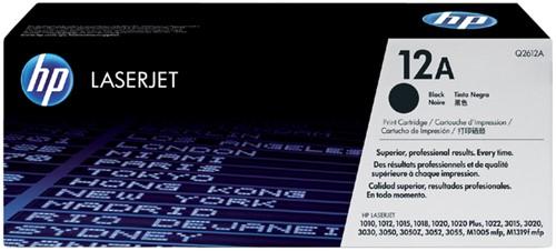 Tonercartridge HP Q2612A 12A zwart