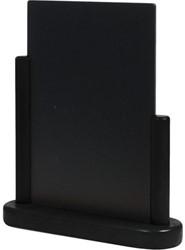 Krijtbord Securit 23x20x6cm zwart hout