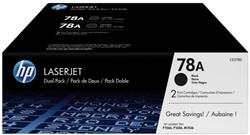 Tonercartridge HP CE278AD 78A zwart 2x