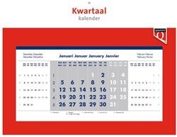 Kwartaalkalender 2018 Quantore