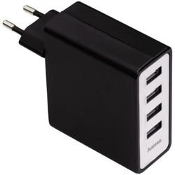 Oplader Hama USB Auto-Detect met 4 poorten