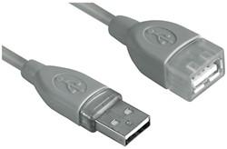 Kabel Hama USB 2.0 Extension 500cm grijs