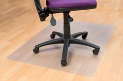 Stoelmat Floortex PVC 120x90cm voor harde vloeren