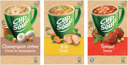 Cup-a-soup kippensoep 21 zakjes-3