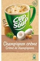 Cup-a-soup champignon cremesoep 21 zakjes-1