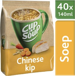 Cup-a-soup tbv dispenser Chinese kip zak met 40 porties