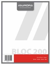 Kladblok 270X210mm 200vel blanco