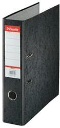 Ordner Esselte A4 Rainbow 75mm karton zwart