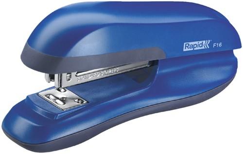 Nietmachine Rapid F16 Halfstrip 20vel 24/6 blauw