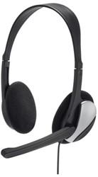 Hoofdtelefoon Hama HS200 On Ear zwart