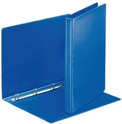 Presentatieringband Esselte A4 4-rings O-mech 16mm blauw