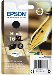 Inkcartridge Epson  16XL T1631 zwart HC