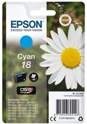 Inkcartridge Epson 18 T1802 blauw