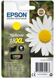 Inkcartridge Epson  18XL T1814 geel HC