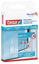 Dubbelzijdige powerstrip Tesa transparant 0.2kg