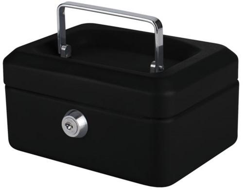 Geldkist Pavo 150x115x80mm zwart-2