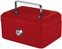 Geldkist Pavo 150x115x80mm rood-2