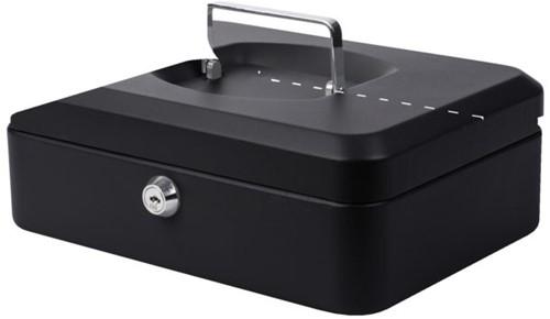 Geldkist Pavo 250x180x90mm zwart-2