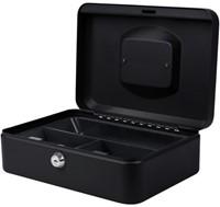 Geldkist Pavo 250x180x90mm zwart