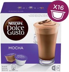 Koffie Dolce Gusto Latte Mocha 16 cups voor 8 kopjes
