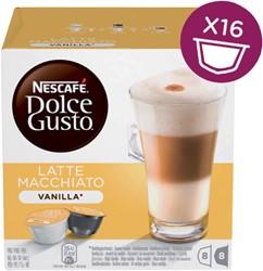 Koffie Dolce Gusto Vanille Machiato 16 cups voor 8 kopjes