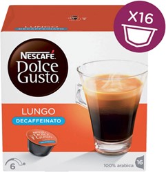 Koffie Dolce Gusto Lungo Decaffeinato 16 cups