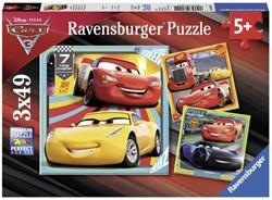 Puzzel Ravensburger Cars 3 4x 49 stuks