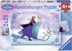 Puzzel Ravensburger Frozen zussen 2x 24 stuks