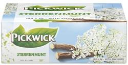 Thee Pickwick sterrenmunt 100 zakjes van 2gram met envelop