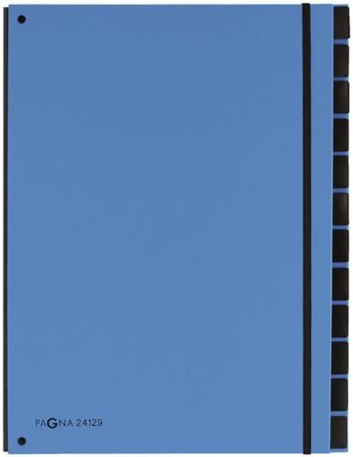 Sorteermap Pagna Trend 12 tabs A4 lichtblauw