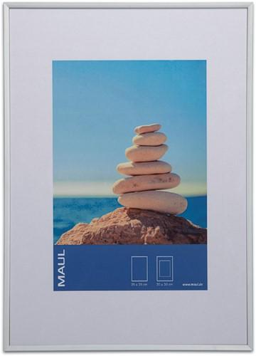 Fotolijst MAUL 30x40cm lijst zilverkleurig