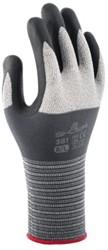 Handschoen Showa 381 grip niitril grijs smal