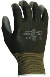 Handschoen Showa B0502 grip nylon zwart smal