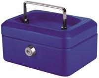 Geldkist Pavo 150x115x80mm blauw-2