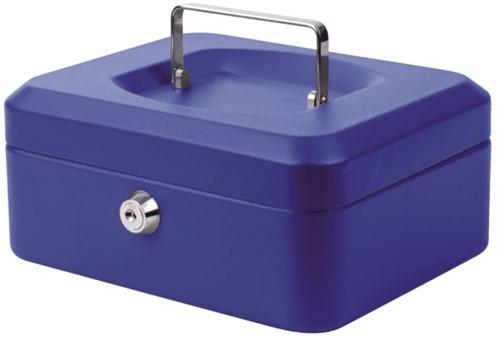 Geldkist Pavo 200x160x90mm blauw-2