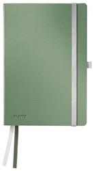 Notitieboek Leitz Style zachte kaft A5 gelinieerd zeegroen