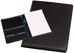 Schrijfmap Rillstab Excellent A4 lederlook zwart