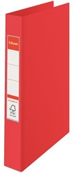 Ringband Esselte A4 23O-rings 25mm rood