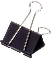Papierklem Maul 213 Foldback 51mm capaciteit 28mm zwart