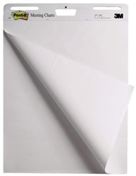 Meeting chart 3M Post-it 559VP4+2 63.5x76.2cm blanco