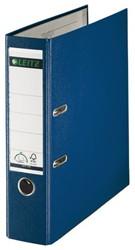 Ordner Leitz 1010 A4 80mm PP blauw