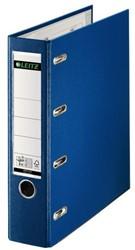 Ordner Bank Leitz A4 75mm PP 2 mechanieken blauw