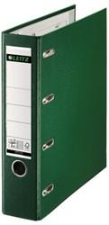 Ordner Bank Leitz A4 80mm PP 2 mechanieken groen