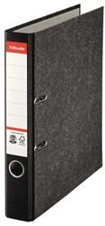 Ordner Esselte A4 50mm karton gewolkt zwart
