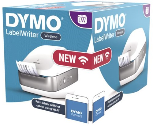 Labelwriter Dymo draadloos wit