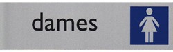 Infobord pictogram dames 165x44mm