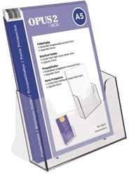 Folderhouder OPUS 2  A5 acryl
